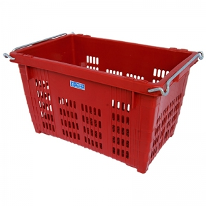 FT291 Square basket  with metal handil